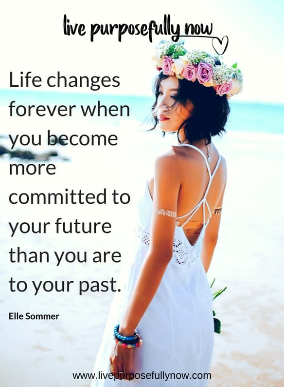 commit to your future not your past