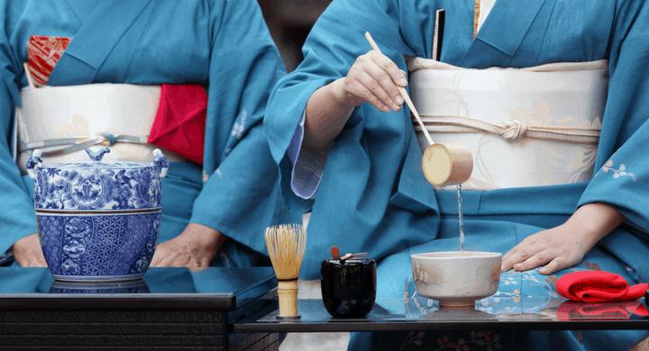 Japanese tea rituals