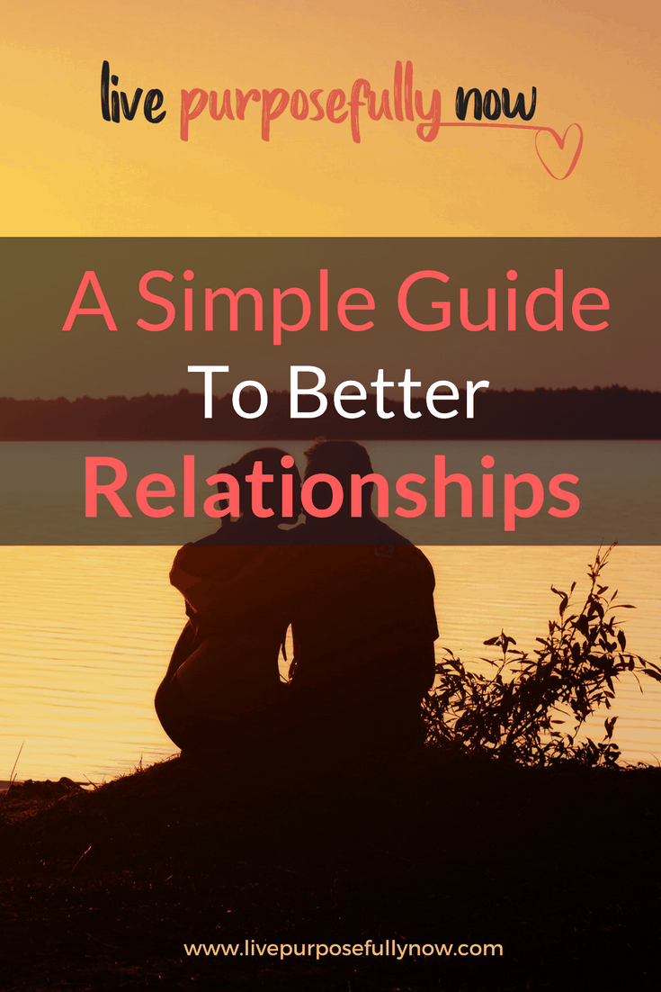 Better relationships  live purposefully now | relationships | life lessons |