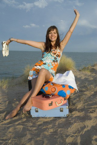 http://www.dreamstime.com/royalty-free-stock-photography-girl-suitcases-image15302707