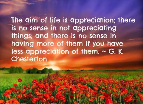 appreciation,gratitude
