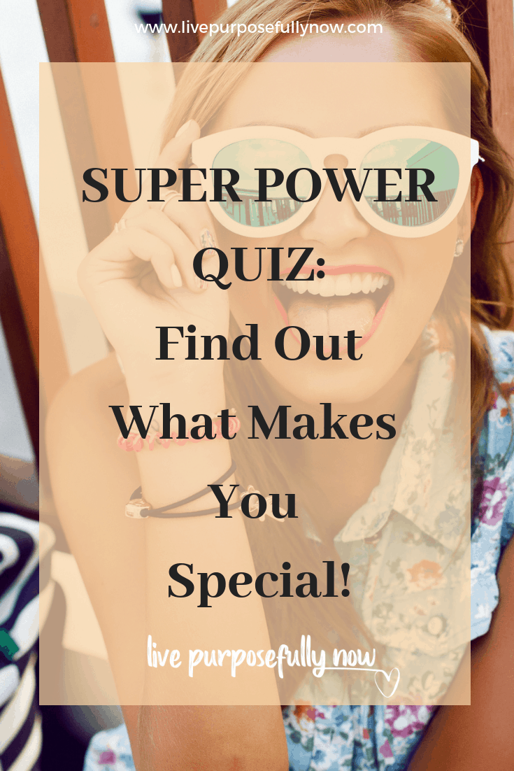 Check out this fun quiz and discover the wonder and uniqueness that is you. The very thing that makes you so special.
