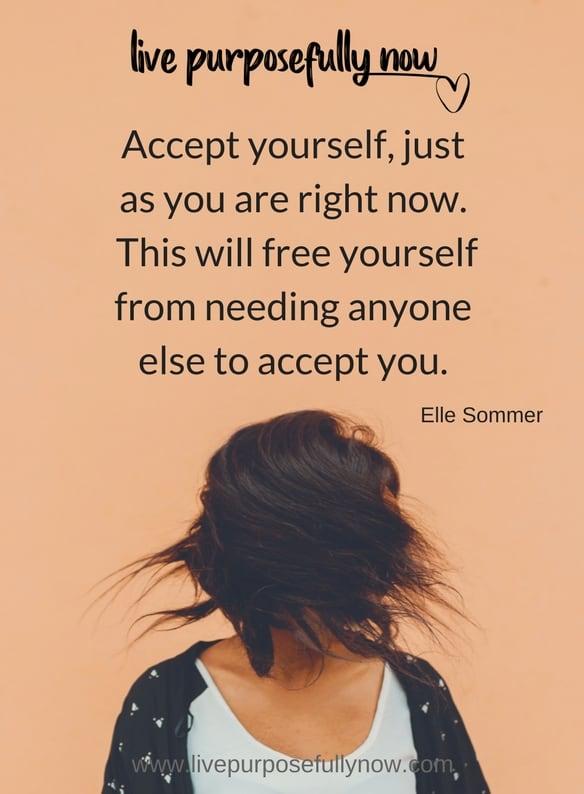 practice self acceptance