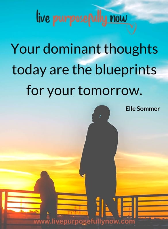 your thoughts are creating your life