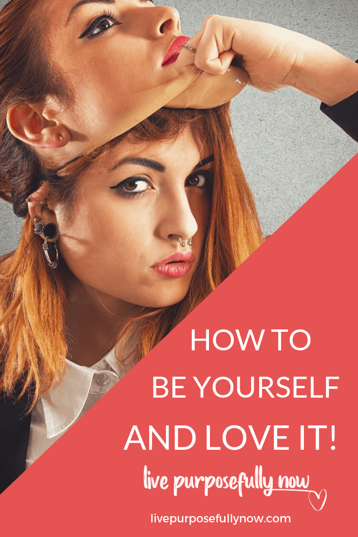 Wanting to be someone else is just wasting who you are. Be yourself, the one you\'ve buried under the idea of who you should be.
