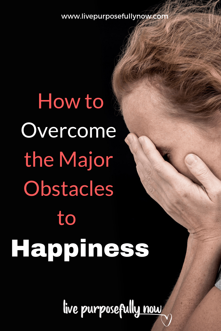 Discover ways to overcome the major obstacles to happiness that we all seem to trip over too regularly for my liking!