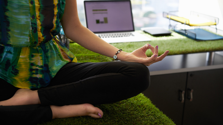 daily meditating