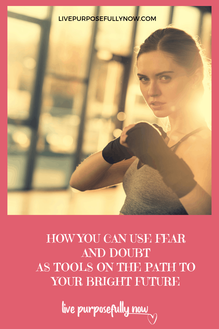 Never give in to fear and doubt, they are the fuel of fear. And it\'s fear that stands between you and your dreams, killing them with a swift blow. Click here to learn how to use them as tools to power you through to the life you want to live. #fear #doubt #dreams #success #lifelessons