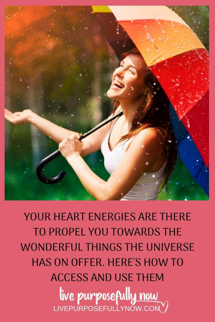 To allow the most beautiful things in the world to flow to you and through you requires an open heart.  Your heart energies are there to propel you towards the wonderful things the universe has on offer. So your life becomes overflowing with miracles. And who would say no to that?  Right? #heart energies #amazinglife #spiritualgrowth
