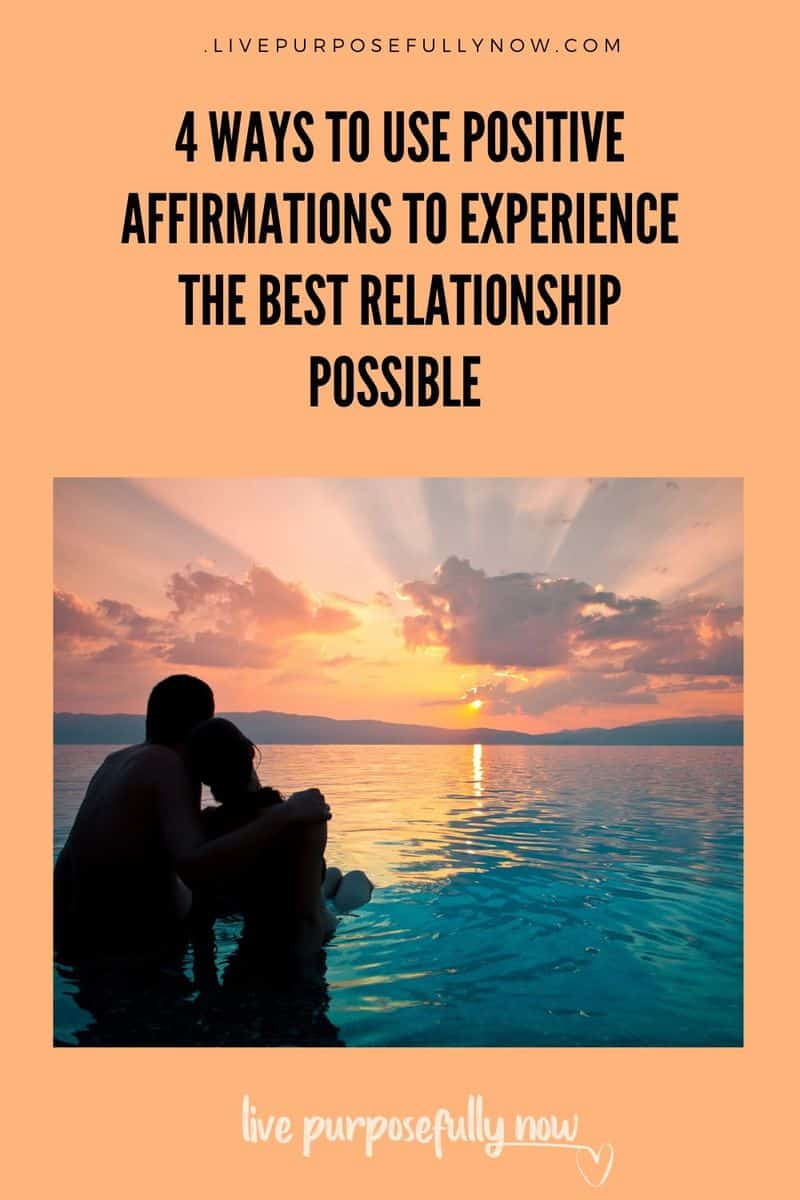 Encouraging affirmations are a powerful way to express love in a relationship. And an underutilised tool for creating happy, fulfilling relationships. #happyrelationships #relationships #love