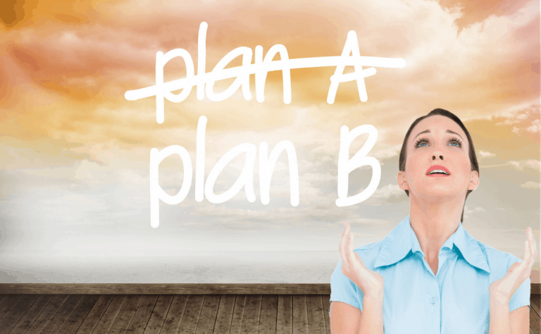 woman-plan-A-or-B-procrastination