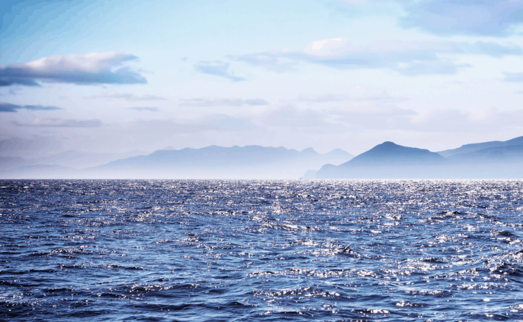 ocean-distant-shore-signs-of-land