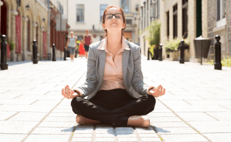 meditating-woman-finding-own-path